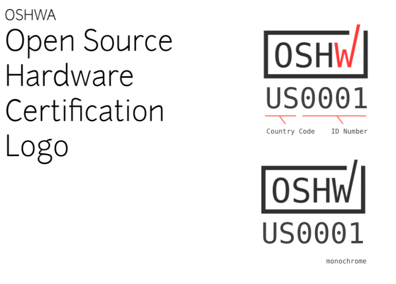 Oshwa Certification Logo Is Official Michaelweinberg