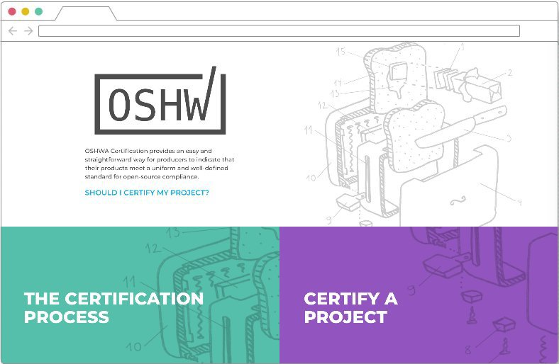 OSHWA Certification home page